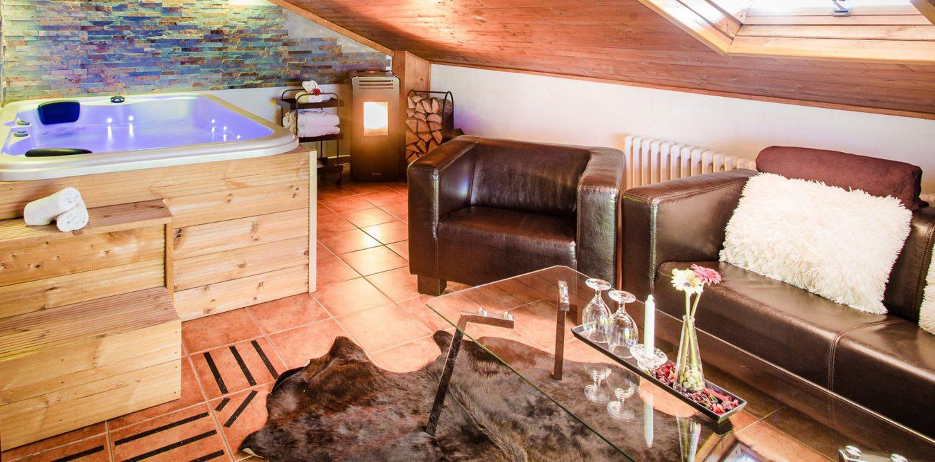 Pokoj s vířívou vanou