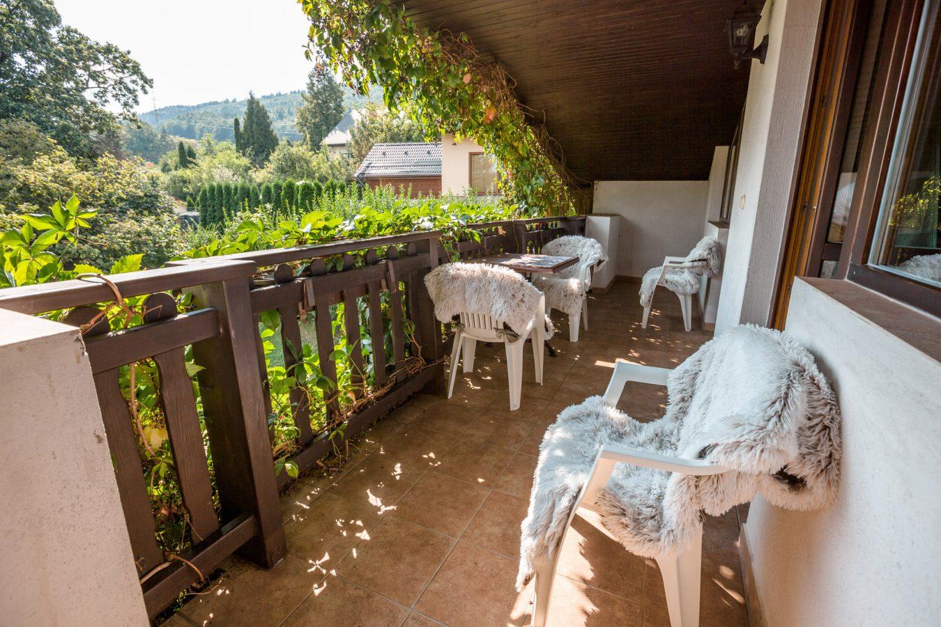 Apartmá s balkónem