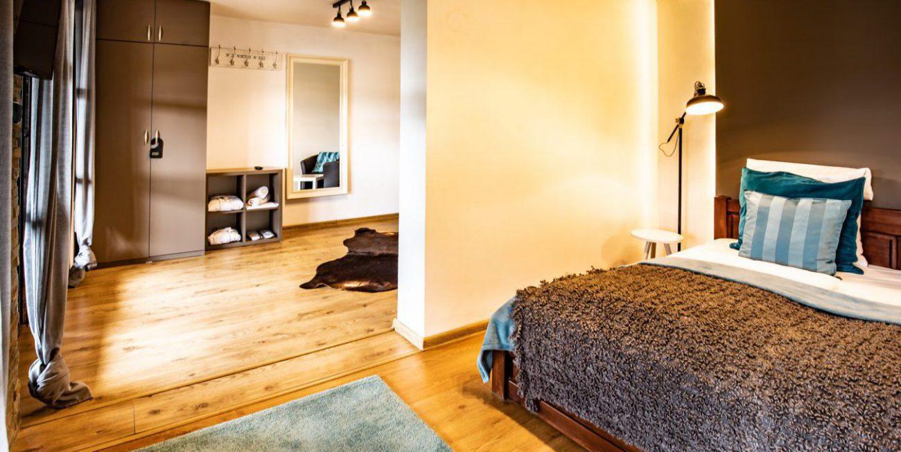 Zahradní apartmá s vířivkou a saunou